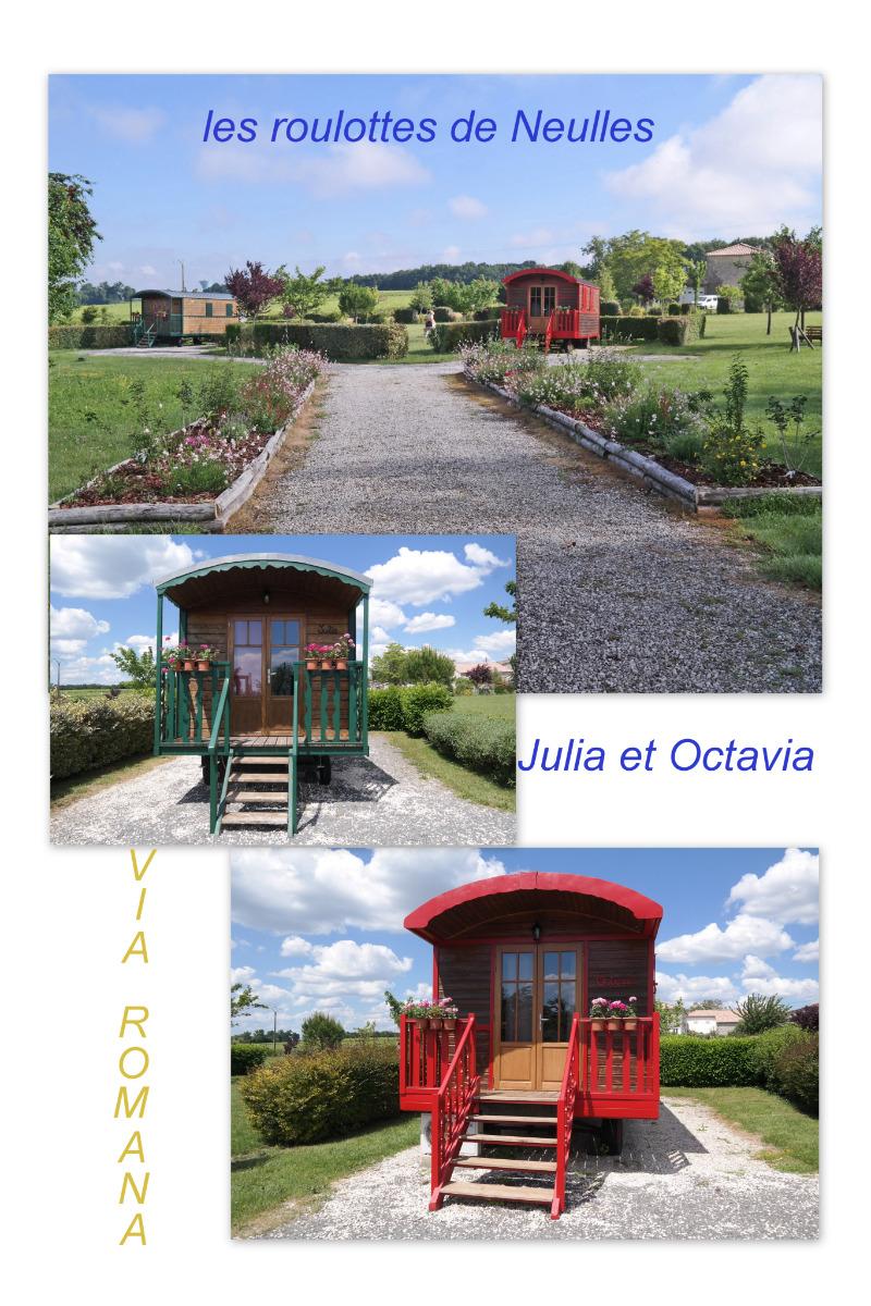 ROULOTTE OCTAVIA - Location de vacances - Neulles