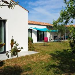 détente côté terrasse,plein sud - Location de vacances - Le Grand-Village-Plage