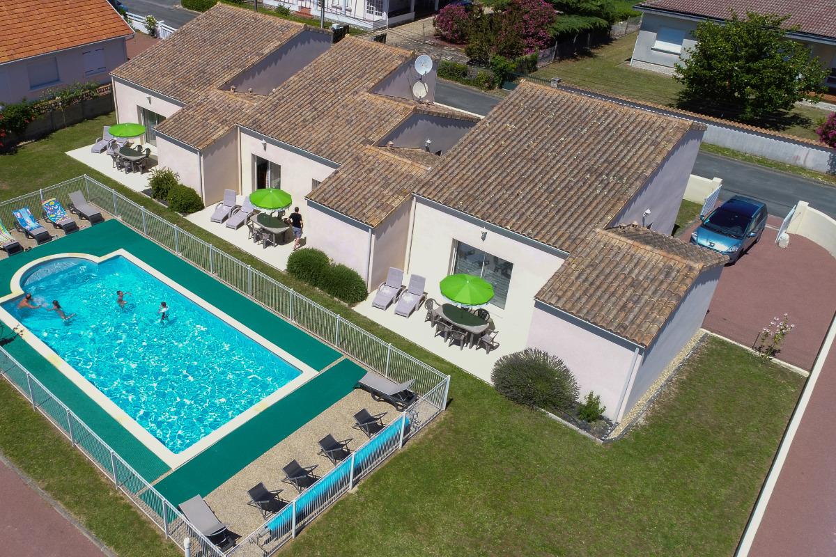 LA PISCINE VUE DU CIEL - Location de vacances - Bourcefranc-le-Chapus