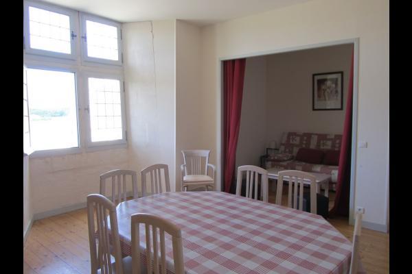 Salle à manger - Salon - Location de vacances - Trizay