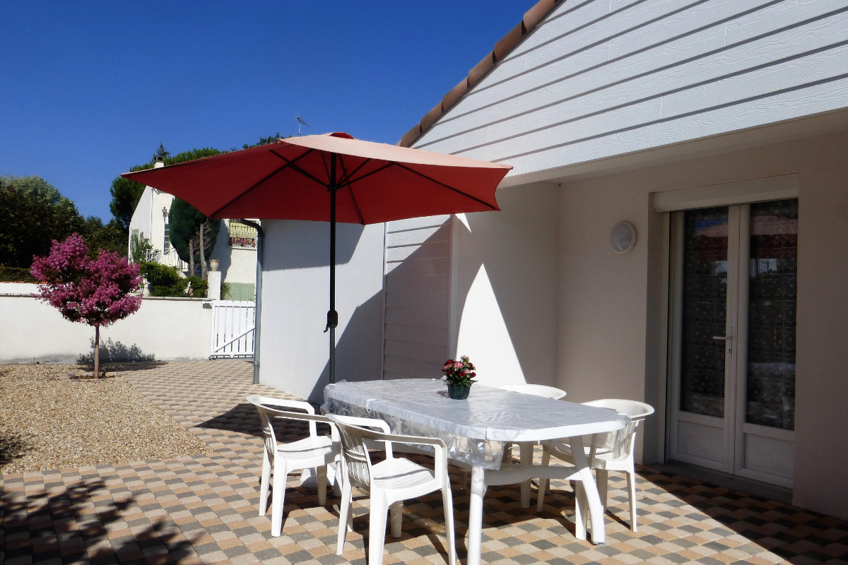 La terrasse - Location de vacances - Saint-Georges-de-Didonne