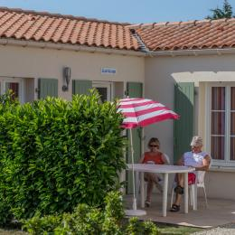 TERRASSE - Location de vacances - Jonzac