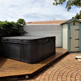 Table basse séjour - Location de vacances - Le Bois-Plage-en-Ré