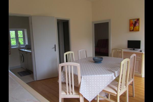 Salon - Salle à manger - Location de vacances - Trizay