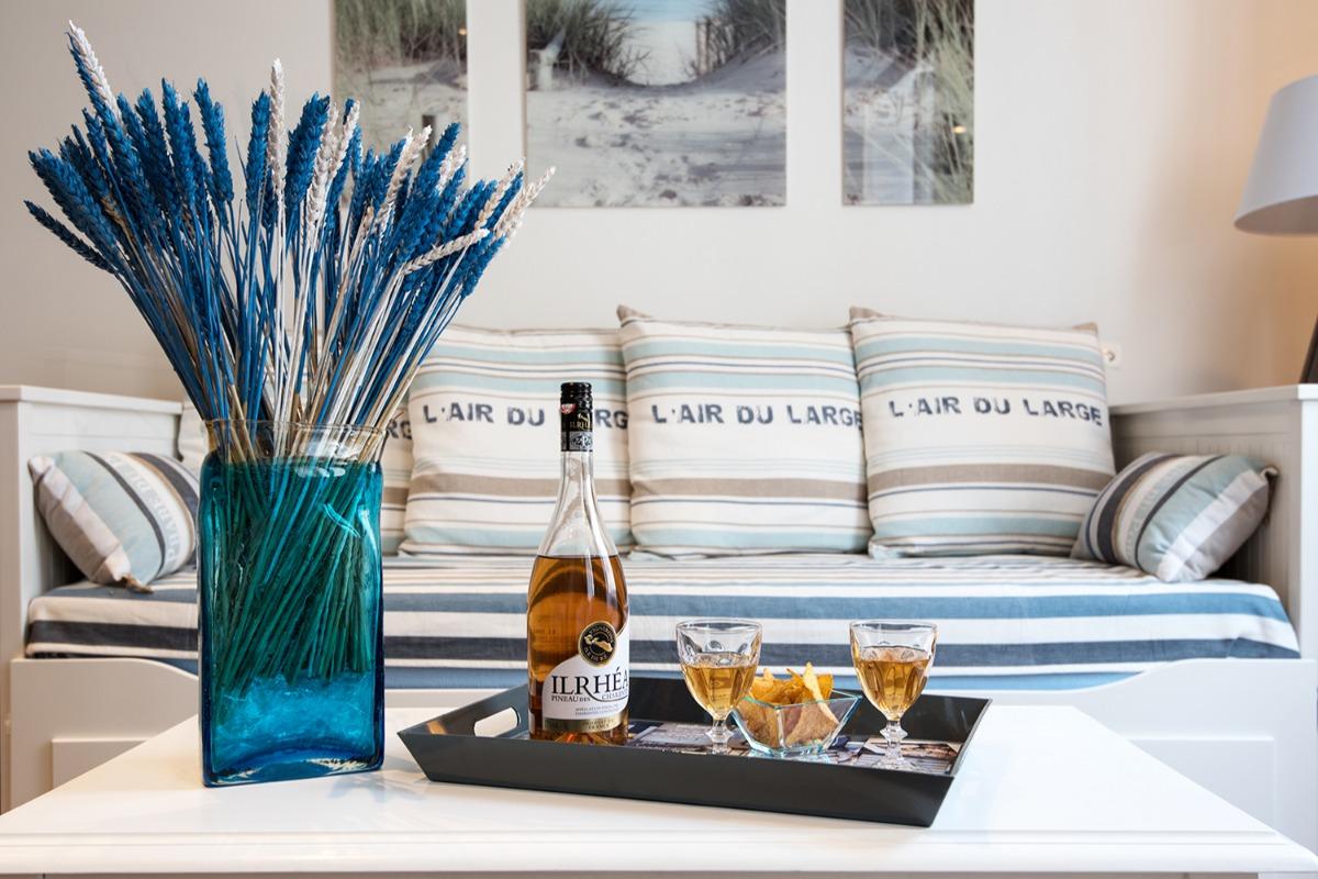 Le blé de mer, un vaste T2 tout confort au coeur de ville - Location de vacances - La Rochelle