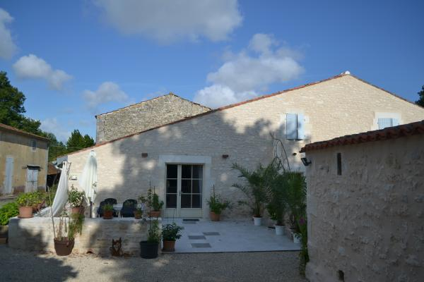 La terrasse en fin de journée - Location de vacances - Cabariot