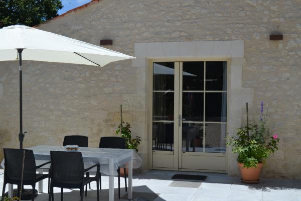 La terrasse au soleil - Location de vacances - Cabariot