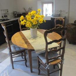 Le coin cuisine - Location de vacances - Cabariot