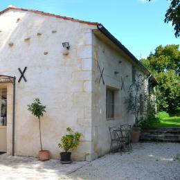 La terrasse et la cours indépedante - Location de vacances - Cabariot