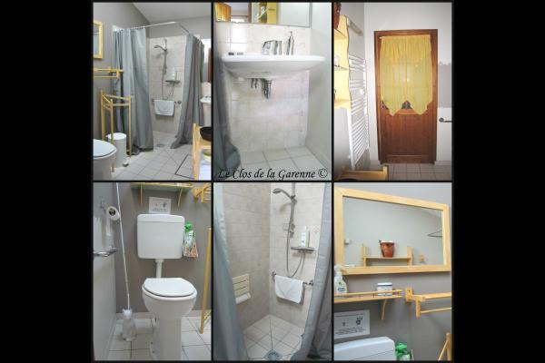 Cottage : chambre parents - Chambre d'hôte - Puyravault