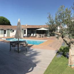 Une villa où il fait bon vivre à plusieurs car proposant des espaces indépendants - Location de vacances - Le Bois-Plage-en-Ré