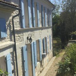 La chambre mauve  - Location de vacances - Saint-Ciers-du-Taillon