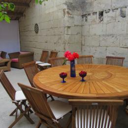 La chambre familiale  - Location de vacances - Saint-Ciers-du-Taillon