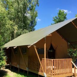 Tente Eugénie - Location de vacances - Saint-Christophe