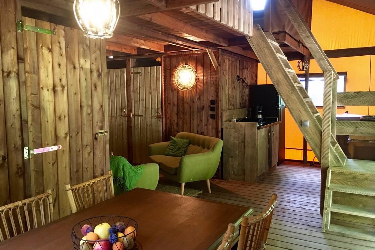 Séjour salon - Location de vacances - Saint-Christophe