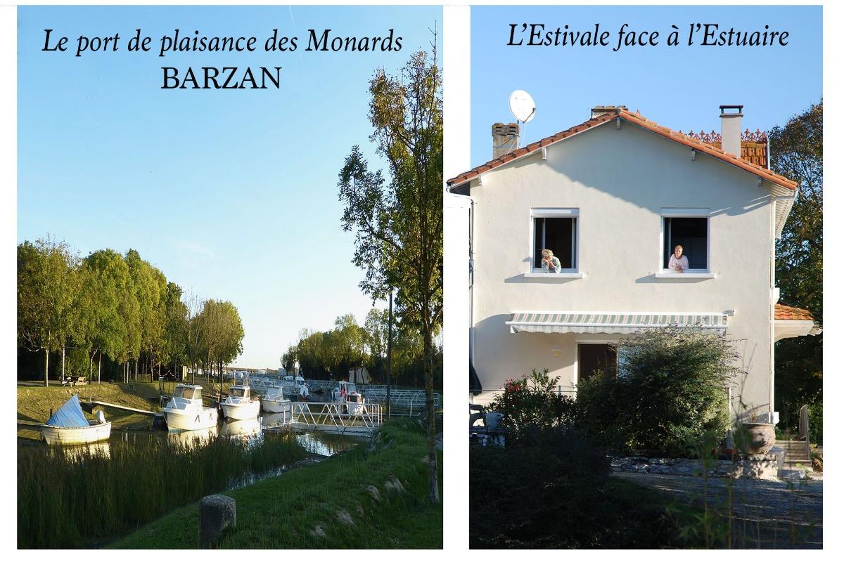L'Estivale au port des Monards - Barzan - Location de vacances - Barzan