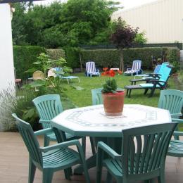 terrasse ensoleillée  - Location de vacances - Le Grand-Village-Plage