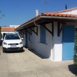 vue sur l'entrée et le garage - Location de vacances - Le Grand-Village-Plage