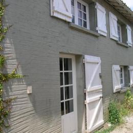 Façade de la maison. - Location de vacances - Meschers-sur-Gironde