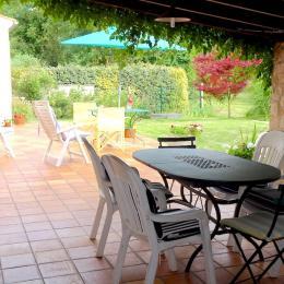 L'entrée de la propriété - Location de vacances - La Vallée