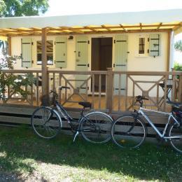 l'extérieur en été sans bâches et nos 2 vélos mis gracieusement à disposition - Location de vacances - Saint-Pierre-d'Oléron