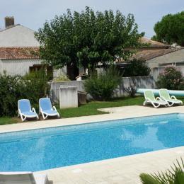 piscine - Location de vacances - Meursac