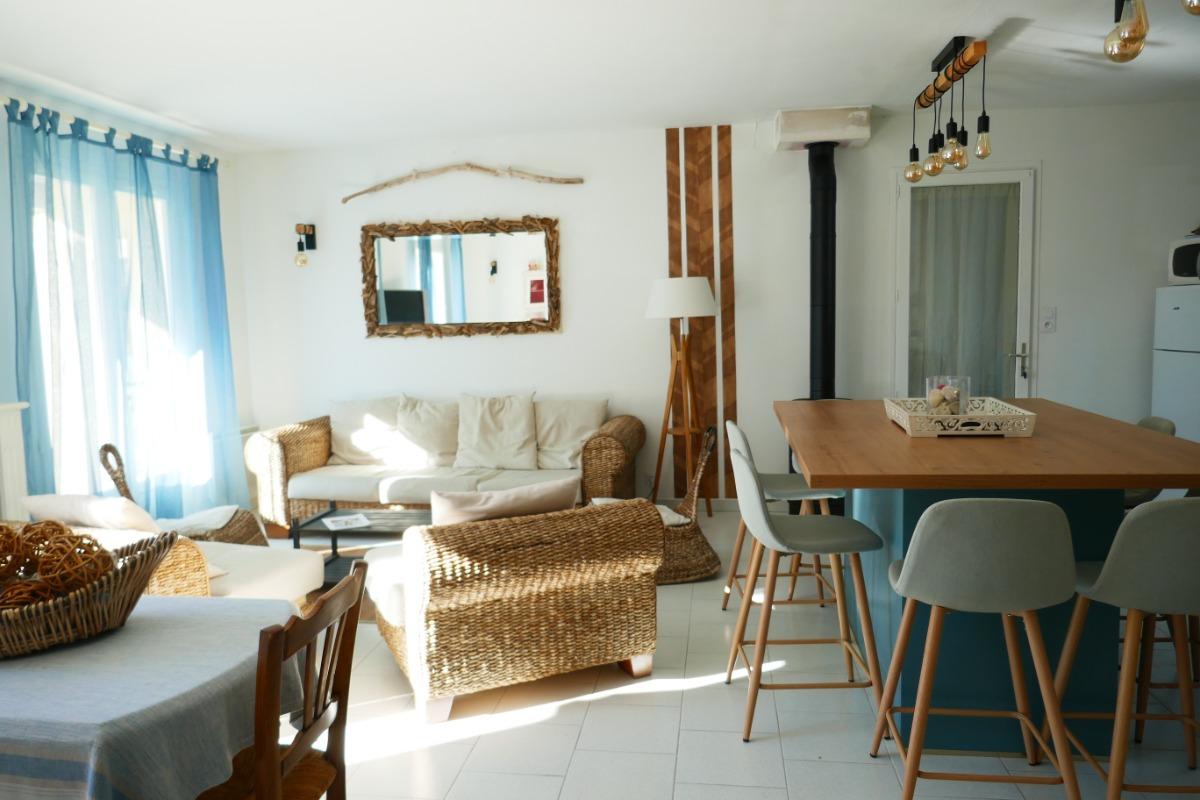Terrasse détente - Location de vacances - Saint-Georges-d'Oléron
