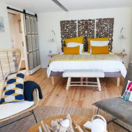 Chambre avec un lit en 180 - Chambre d'hôtes - Saint-Georges-du-Bois