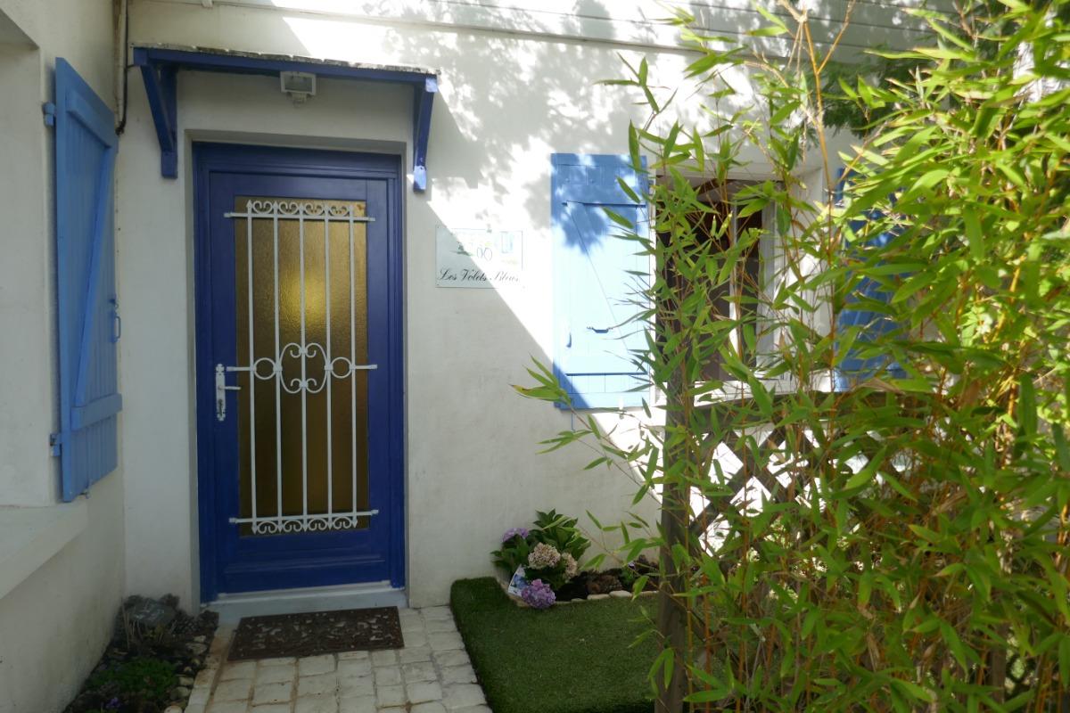Exterieur de la maison  - Location de vacances - Salles-sur-Mer