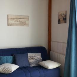 Le salon - Location de vacances - Salles-sur-Mer