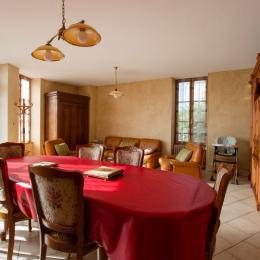 salle à manger salon - Location de vacances - Sancerre