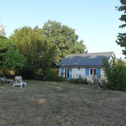 Arrière de la maison - Location de vacances - Savigny-en-Sancerre