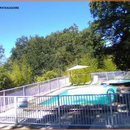 Piscine et Pataugeoire - Location de vacances - Altillac