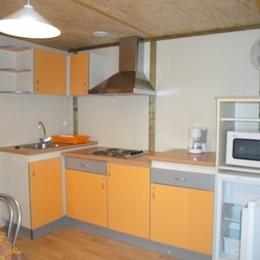 Cuisine Chalet 5/7 personnes - Location de vacances - Altillac