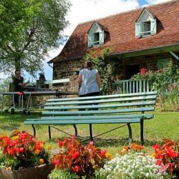 Le Rouchil au crépuscule - Location de vacances - Tudeils