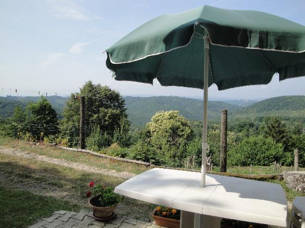 vue panoramique - Location de vacances - Gimel-les-Cascades