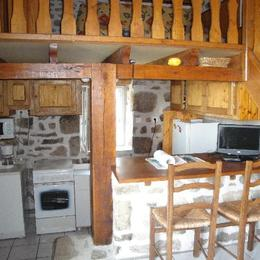 l'intérieur - Location de vacances - Gimel-les-Cascades