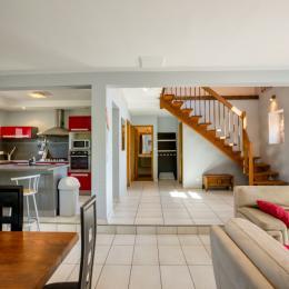 chambre bleu au rez de chaussé - Location de vacances - Saint-Pantaléon-de-Larche