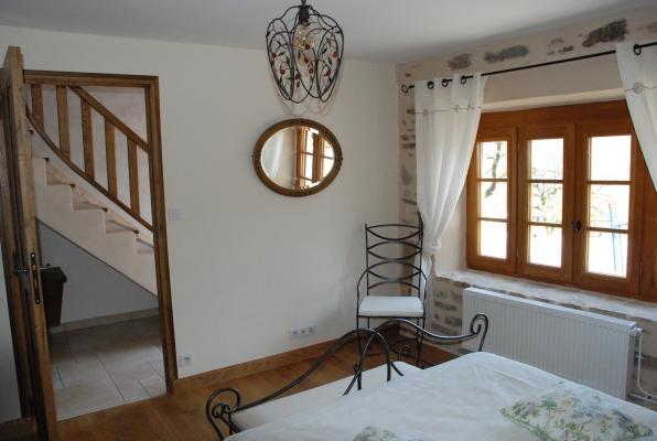 chambre bas 2 - Location de vacances - Beaumont