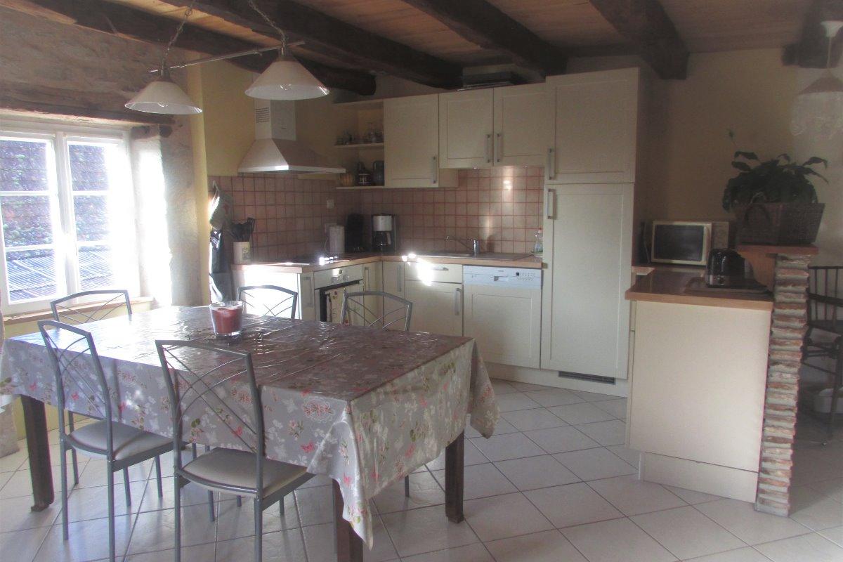 coté cuisine - Location de vacances - Branceilles