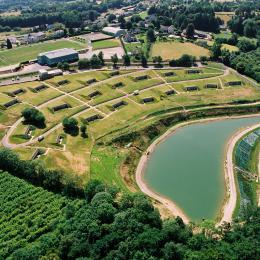Vue aérienne - Location de vacances - Sainte-Féréole