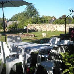 Jardin clos - Location de vacances - Arnac-Pompadour