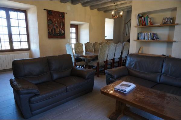 salon - Location de vacances - Treignac