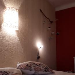 chambre rez-de-chaussée - Location de vacances - Madranges