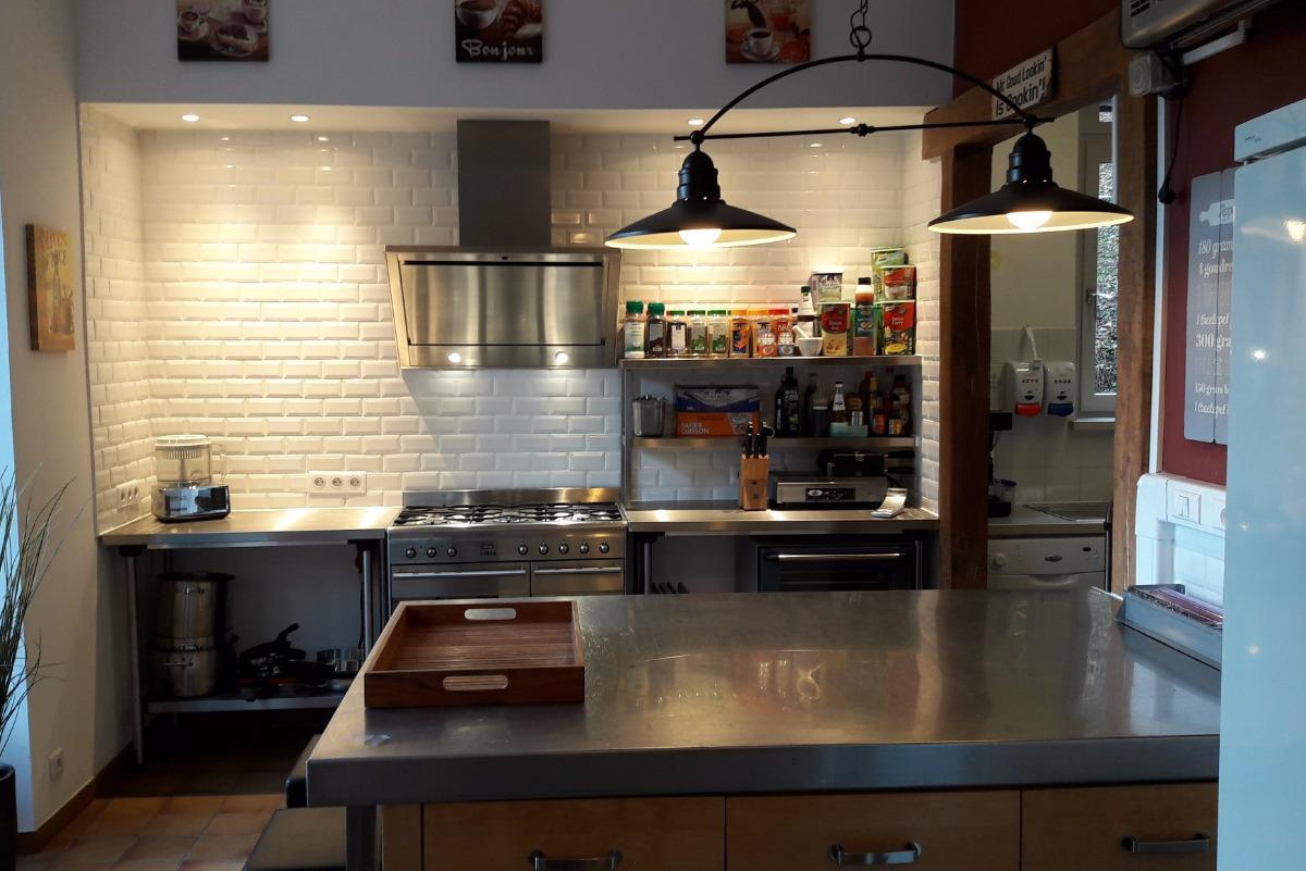 la cuisine / table d'hôtes 39.50€/pers.