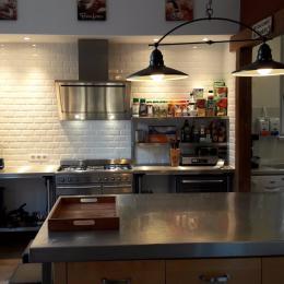 la cuisine / table d'hôtes 39.50€/pers. - Chambre d'hôte - Corrèze