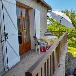 Belle maison de pays - balcon - Location de vacances - Astaillac