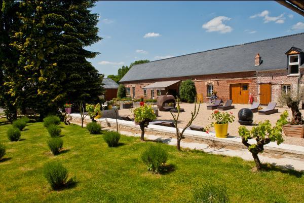 Bâtiment principal Le Prieuré - Chambre d'hôtes - Sainte-Preuve