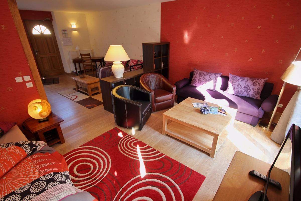 Chambre Zen de 1 à 6 personnes - Accessibilité handicapé - Chambre d'hôtes - Fontaine-lès-Vervins