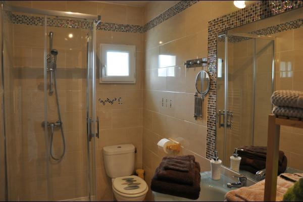 Salle d'eau/wc - Location de vacances -